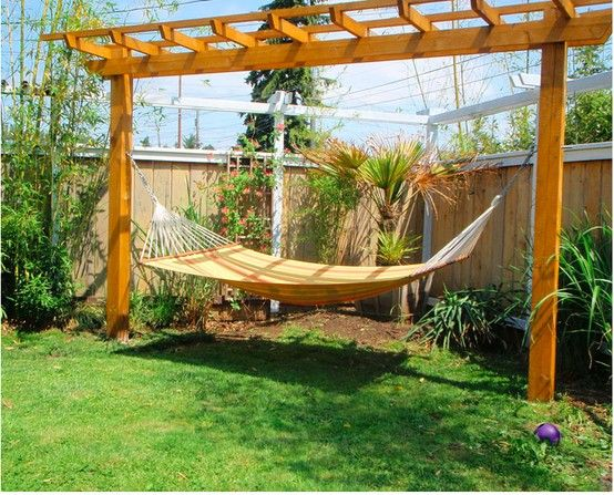 Your hammock awaits, so you can be lazy and live green!