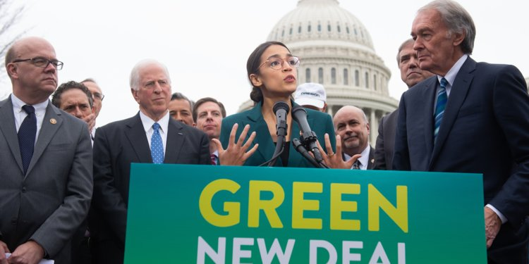 OCA speaking about the Green New Deal