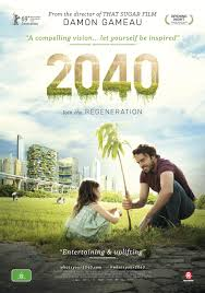 "An ad for the movie ""2040,"" from Damon Gameau"